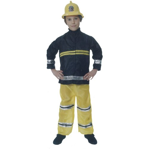 D/UP CHILD FIREMAN MEDIUM 7-9 YRS