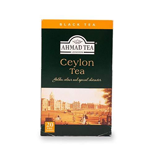 Ahmad Tea Ceylon Tea, 20-Count Boxes (Pack of 6)