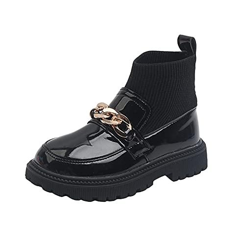 JDGY Zapatos de princesa de piel para niñas, fiestas, niños, zapatos de...