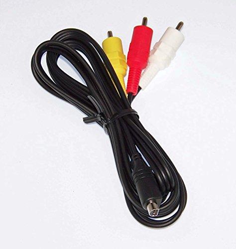 OEM Sony Audio Video Cord Supplied with DCRHC21, DCR-HC21, DCRSX44E, DCR-SX44E, HDRCX580E, HDR-CX580E