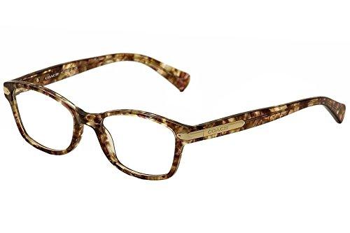 Coach Eyeglasses HC6065 6065 5287 Confetti Light Brown/Gold Optical Frame 49mm, 49-17-135