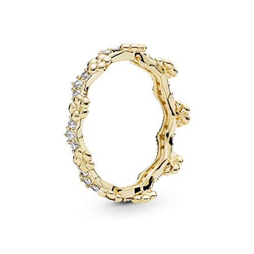 Pandora Damen-Ringe 925 Sterlingsilber zirkonia '- Ringgröße 52 167924CZ-52