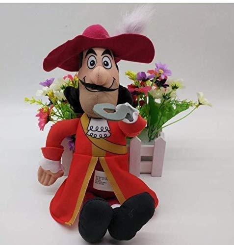 N/T Cartoon Puppe Plüschtier, Jake Und Die Nimmerland Piraten Kapitän Hook Jake Izzy Plüschtier Figur Gefüllte Puppen 32Cm