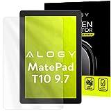 Alogy zu Huawei MatePad T10 9.7 Schutzfolie schützt das Tablet vor Beschädigung transparent. Tablet schutzfolie