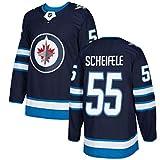 XIAORU Laine bestickte Sweatshirts Hockey Kleidung Training Trikots Winnipeg Jets Langarm Sporttraining Kleidung,55,XL