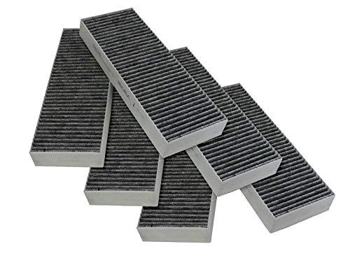 Bora 3er Set Aktivkohlefilter-Set BAKFS Ersatzbedarf für Bora BasicKochfeldabzug