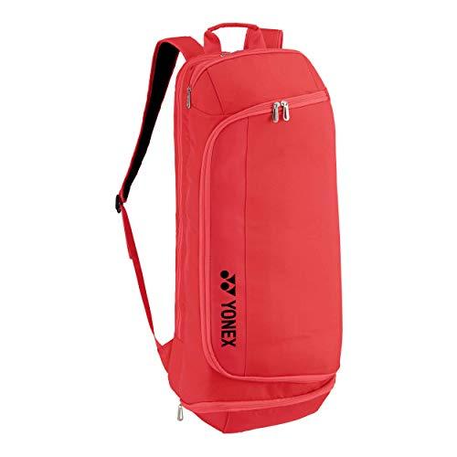 YONEX Racquet Backpack Rucksack Koralle - Schwarz