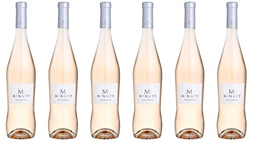 6x Château Minuty M Rosé 2019 - Weingut Château Minuty, Provence - Rosé