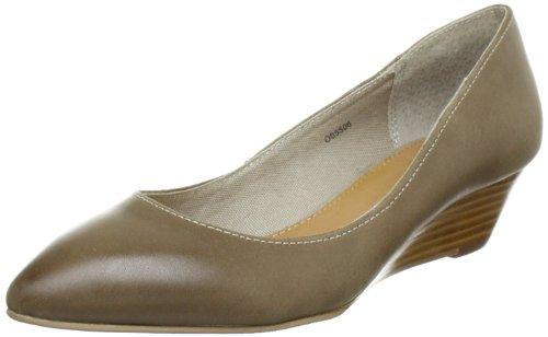 ESPRIT Sania Wedge O05506, Damen Halbschuhe, Beige (new beige 293), EU 41
