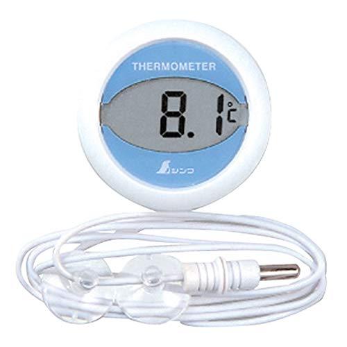 シンワ測定(Shinwa Sokutei) 冷蔵庫用 温度計 デジタルT 丸型 72980