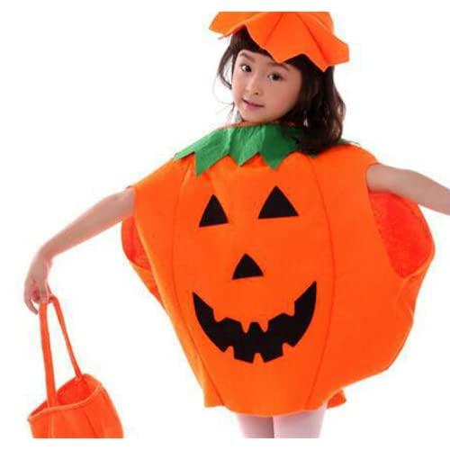 GBBNWFOL Tuta di Trucco di Halloween Abbigliamento Bambino Bambino Non-Tessuto Piga Suit Met 3