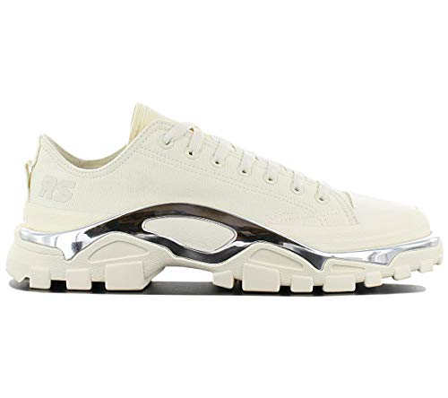 adidas Sneaker by RAF Simons Detroit Runner In Canvas Creme, Größe UK: 9½