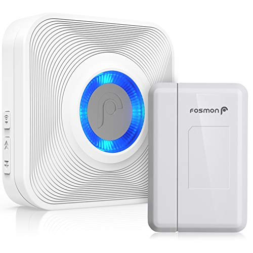Fosmon [WaveLink Wireless Door Open Sensor Alarm Chime, Security Window...