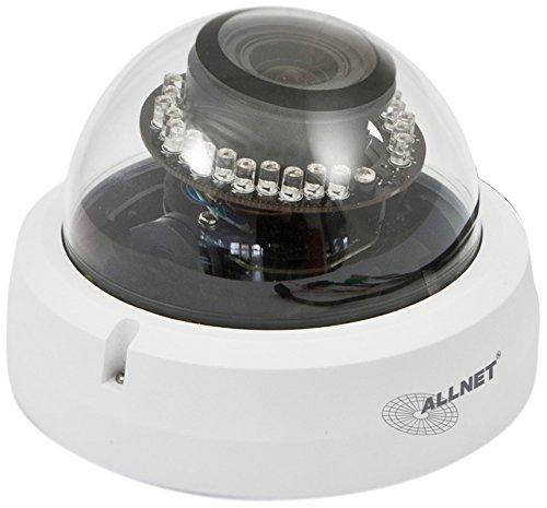 Allnet Fix Dome Outdoor Netzwerkkamera mit IR-Beleuchtung (Full HD)
