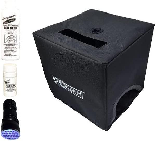 Glo Box Kit With Glo Germ Gel Powder 21 LED UV Flashlight Folding Box