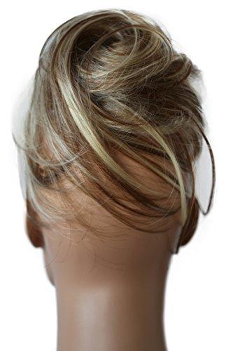 PRETTYSHOP Dutt Haarteil Zopf Haarknoten Hepburn-Dutt Haargummi Hochsteckfrisuren blond mix 12H613 DC22
