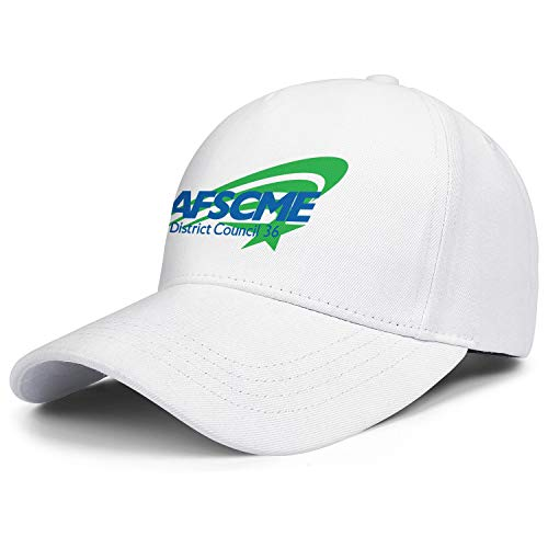 WYLIN AFSCME District Council 36 Men Women Cool Dad Hat Snapback Twill Cap Adjustable