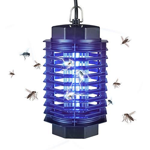 Gardigo elektronischer Insektenvernichter mit UV Licht   Mückenschutz elektrisch gegen Mücken, Fliegen, Moskitos   Insektenabwehr Wirkungsbereich 50 m²