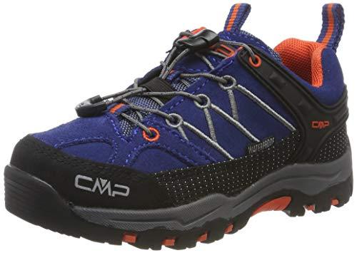 CMP Unisex-Kinder Kids Rigel Low Shoes Wp Trekking- & Wanderhalbschuhe, Blau (Marine-Tango 05md), 30 EU