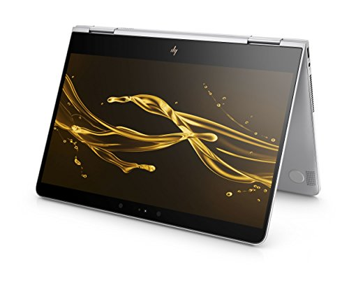 HP Spectre x360 (13-ac004ng) 33,8 cm (13,3 Zoll / 4K Touchscreen) Convertible Ultrabook (2in1 Laptop mit Intel Core i7-7500U, 16 GB RAM, 512 GB SSD, Intel HD-Grafikkarte 620, Windows 10 Home) silber