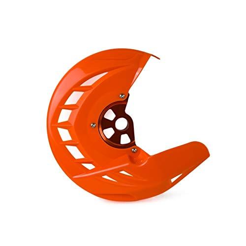 TGGFA Frente Disco de Freno Protector Gaurd for Husqvarna TE FE 125 250 300 350 449 450 480 501 2014 2015 for KTM EXC SXF SX XCF (Color...