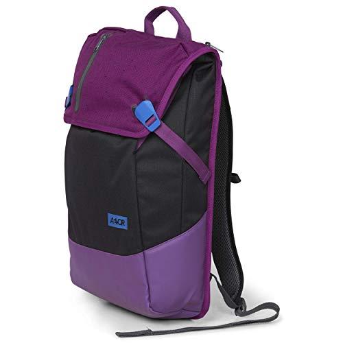 AEVOR Daypack - erweiterbarer Rucksack, ergonomisch, Laptopfach, wasserabweisend, Bichrome Mystic
