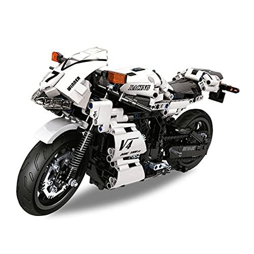 Boutique. City Speed Technology Moto Puzzle Building Block Collection Decorazione Boy Toy Kit (Colore : A)