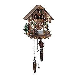 Schneider 13 Quartz Cuckoo Clock Cuckoo Clock with Tudor Style House