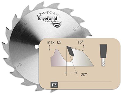 Bayerwald - HM Kreissägeblatt - Ø 700 mm x 6 mm x 30 mm | Langschnitt Flachzahn (42 Zähne) | passend für Trommel- & Revolversägen