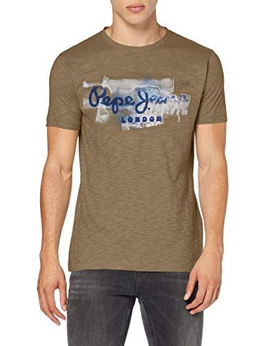 Pepe Jeans Herren T-Shirt Pepe Jeans,Green (720surplus), Large