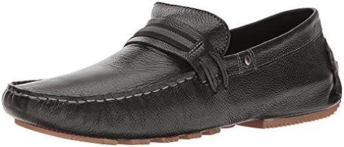 Steve Madden Men& 039;s Zepplyn Slip-On Loafer, schwarz Leather, 7 M US