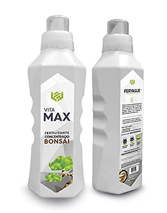 VITAMAX   VITAMAX BONSÁI   Fertilizante Bonsái   Residuo Cero   Fertilizante Concentrado Líquido 750cc