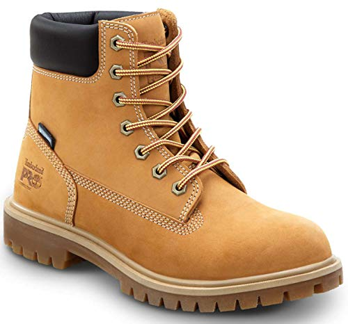 Timberland PRO 6IN Direct Attach Women s, Wheat, Steel Toe, EH, MaxTrax Slip Resistant, WP Insulated Boot (8.0 M)