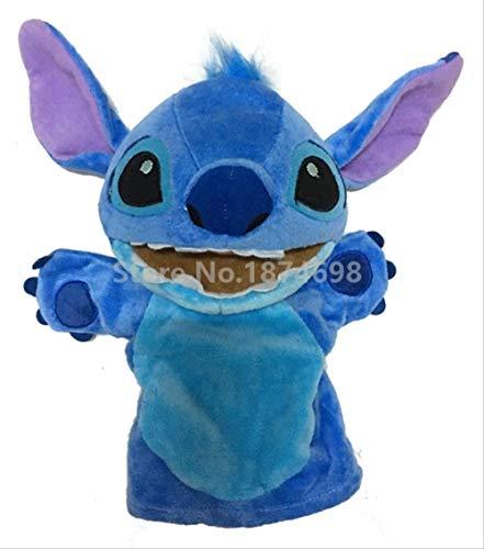 pluche dieren speelgoed,Nieuwe Leuke Stitch Puppet Knuffel 28cm Handpoppen Knuffels Voor Baby Kids Kinderen Geschenken 28cm a