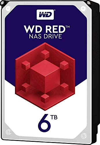 Western Digital WD Red 6TB Interne Hard Disk 8.9cm (3.5 Zoll) SATA 6 GB/s WD60EFAX Bulk
