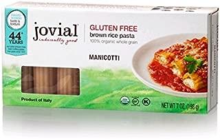 Jovial Foods, Organic Brown Rice (Manicotti, 7 Oz, 3-Pack)