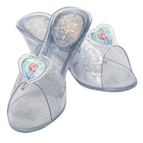 Rubie's Disney Frozen 2 , 300611OS Jelly Schuhe, Mädchen, durchsichtig
