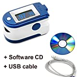 Contec CMS 50D+ OLED USB Finger Pulse Oximeter & Heart...