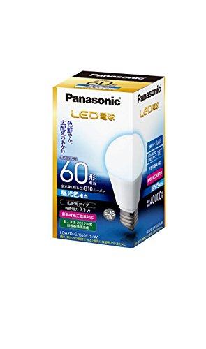 パナソニック LED電球 60W形 昼光色相当