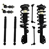 Detroit Axle Front & Rear Loaded Struts and Shocks Complete Assembly, Sway Bar Links for 2...