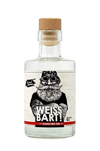 WEISSBART! Badischer Gin - mit 41% Vol in der 0,2 l Flasche