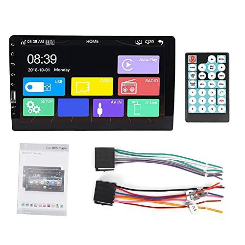 Radio de coche, 9 pulgadas WiFi solo Din Radio de coche estéreo Bluetooth MP5 Player 9008