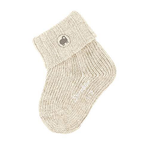 Sterntaler Baby-Boys Söckchen Socks, Ecru, 14