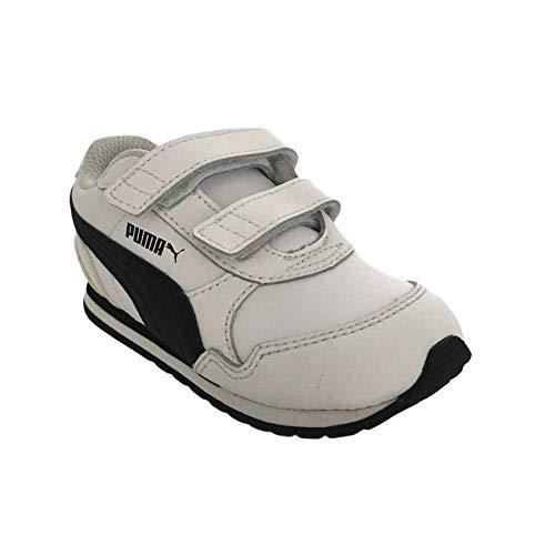 Puma ST Runner v2 L V Inf, Zapatillas de Running Unisex bebé, White, 24 EU