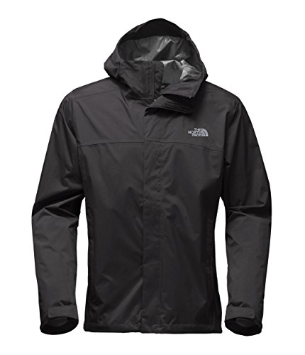 The North Face Men's Venture 2 Waterproof Jacket Tall, TNF Black & TNF Black, XL Tall