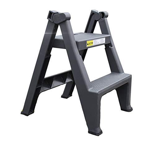 HLL Stap krukken,Home Folding Platform Ladder Draagbare 2 Stap Ladder Car Wash Werkbank Trapladders
