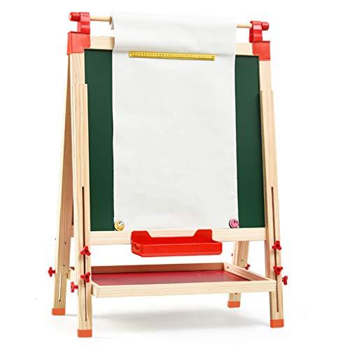 Kinderen ezel, thuis onderwijs kleine schoolbord beugel kinderen verstelbare tekentafel magnetische kleine schoolbord opvouwbare ezel (verzenden 6 soorten kleine geschenken)