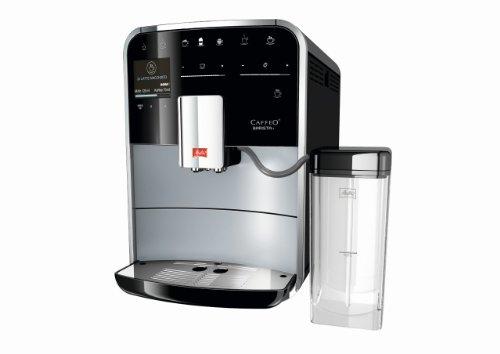 Melitta F740–100Caffeo Barista rostfreiem Maschine, automatische Kaffee expresso- cappuccino- schwarz 15Bars