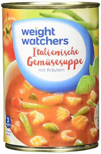 Weight Watchers Italienische Gemüsesuppe, Dose, 6er Pack (6 x 400 ml)