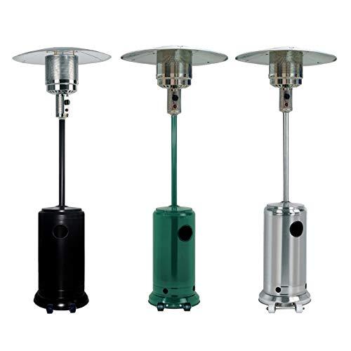 Thulos Estufa de Exterior Ideal para: Terrazas, Jardines, Patios TH-EXT10 (Verde)